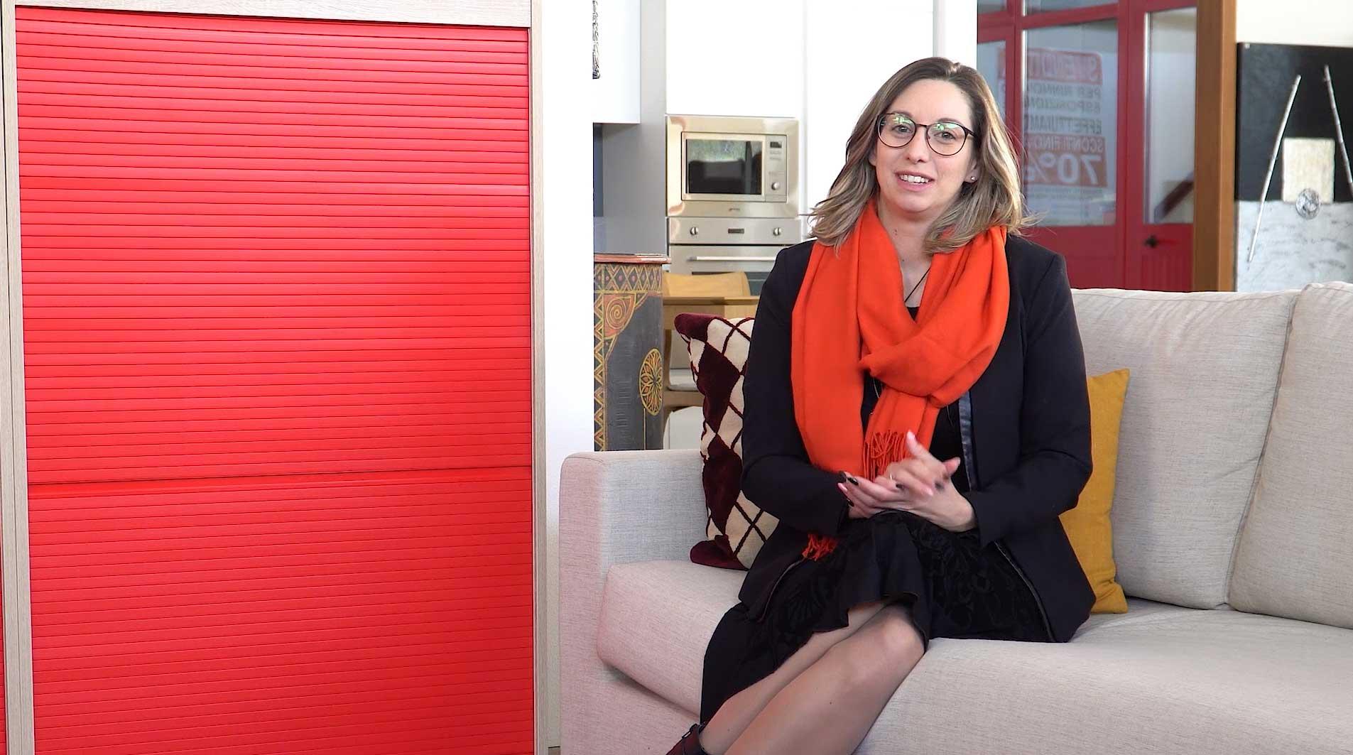 Alice - fondatrice e responsabile produzione Nuova Idea Design